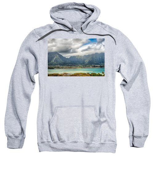 Ko'olau And H-3 In Color Sweatshirt