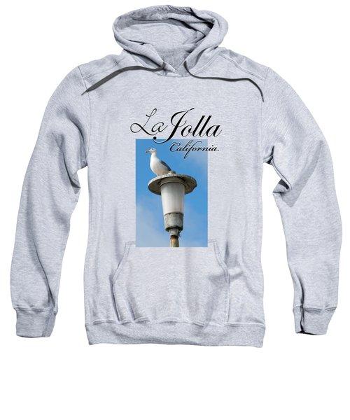 La Jolla Beach Seagull II Sweatshirt by K D Graves