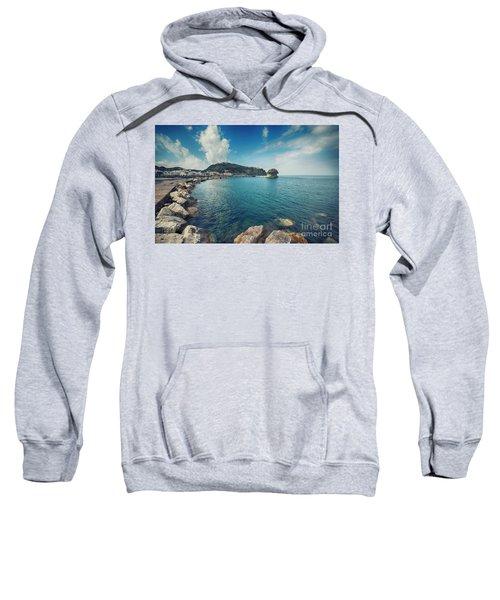 Lacco Ameno Harbour ,  Ischia Island Sweatshirt