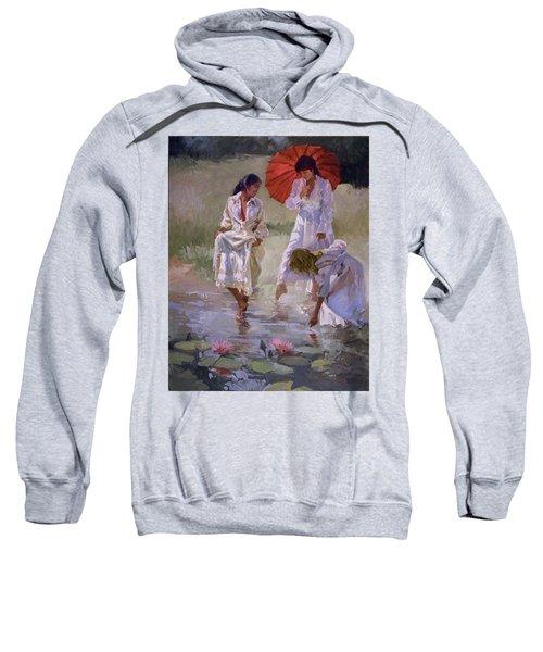 Ladies And Lilies Sweatshirt
