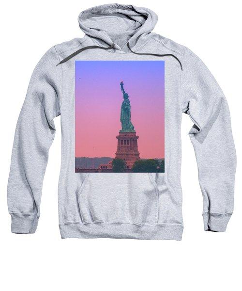 Lady Liberty, Standing Tall Sweatshirt