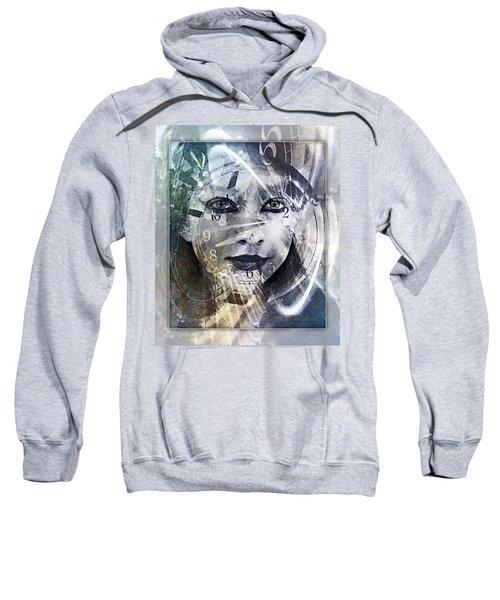 Lady Time Traveler 1b Sweatshirt