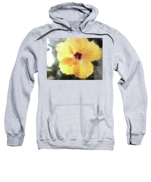 Lady Yellow Sweatshirt