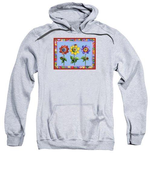 Ladybug Trio Sweatshirt by Shelley Wallace Ylst