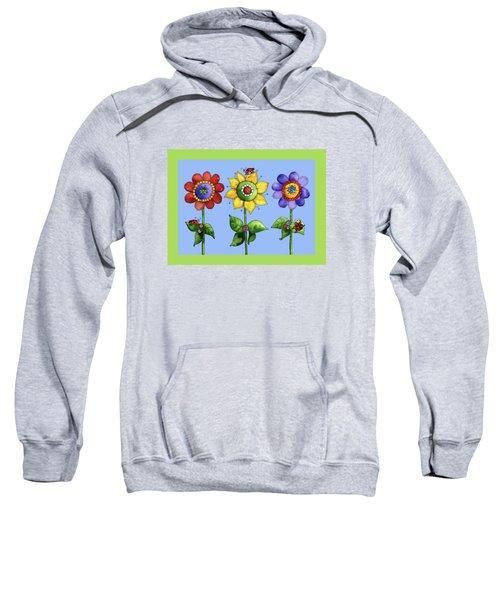 Ladybugs In The Garden Sweatshirt