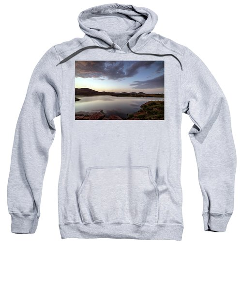 Lake In The Wichita Mountains  Sweatshirt
