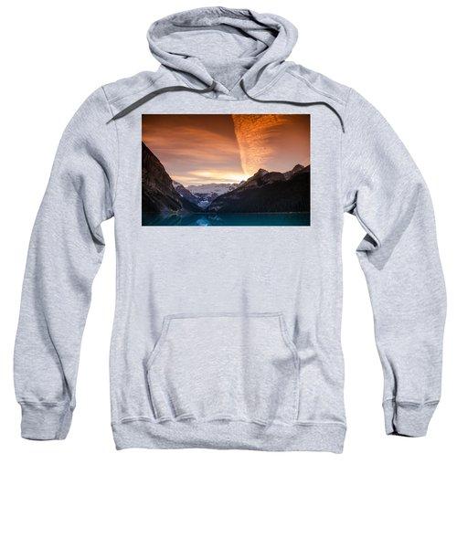 Lake Louise Sunset Sweatshirt