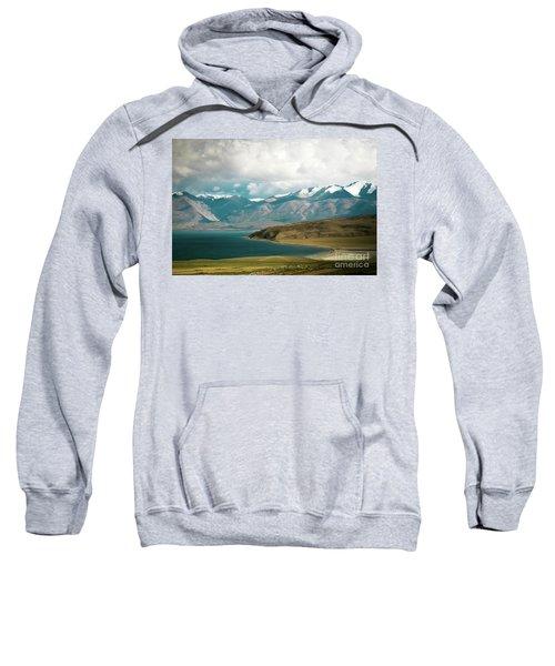 Lake Manasarovar Kailas Yantra.lv Tibet Sweatshirt