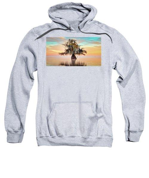 Lake Maurepas In Pastels Sweatshirt