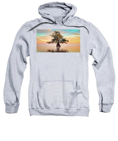 Lake Maurepas In Pastels Sweatshirt