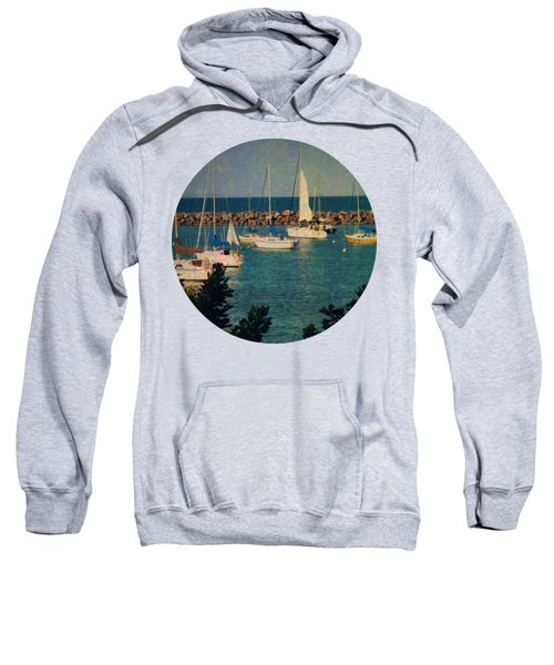 Lake Michigan Sailboats Sweatshirt