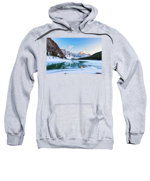 Lake Moraine Sunset Sweatshirt