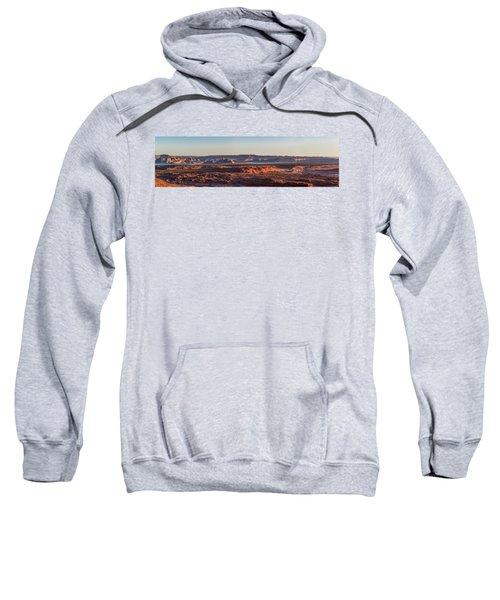 Lake Powell Sunrise Panorma Sweatshirt