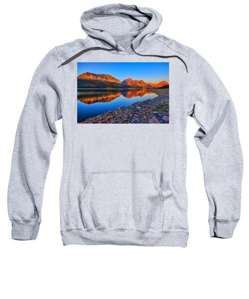 Lake Sherburne Dawn Sweatshirt