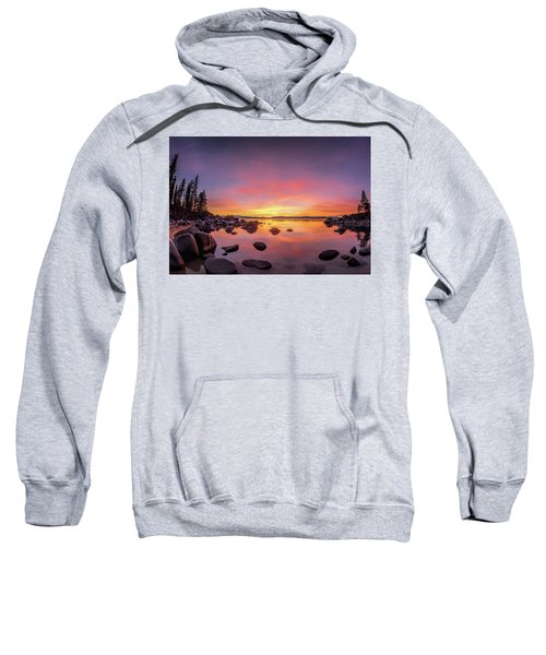 Lake Tahoe Sunset Peace Sweatshirt