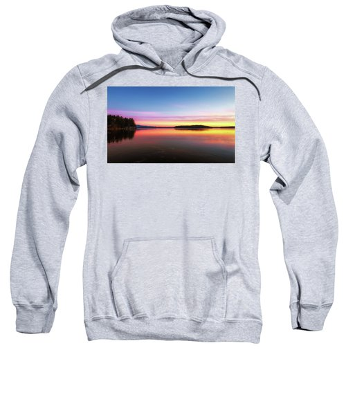 Lake Winnipesaukee Reflections Sweatshirt