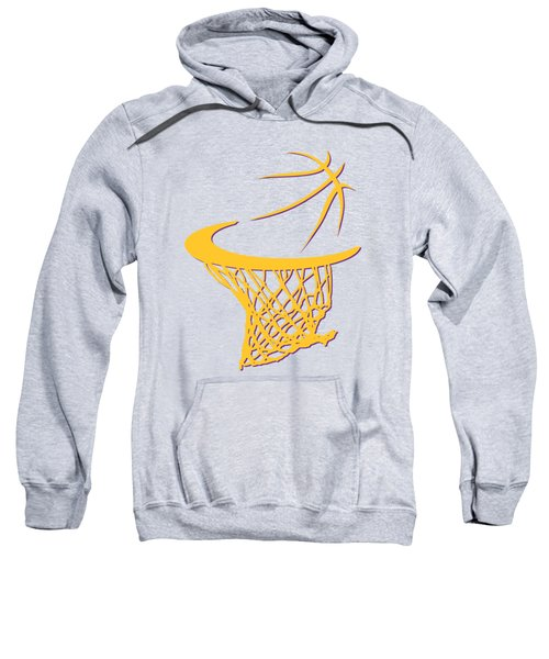 Lakers Basketball Hoop Sweatshirt by Joe Hamilton