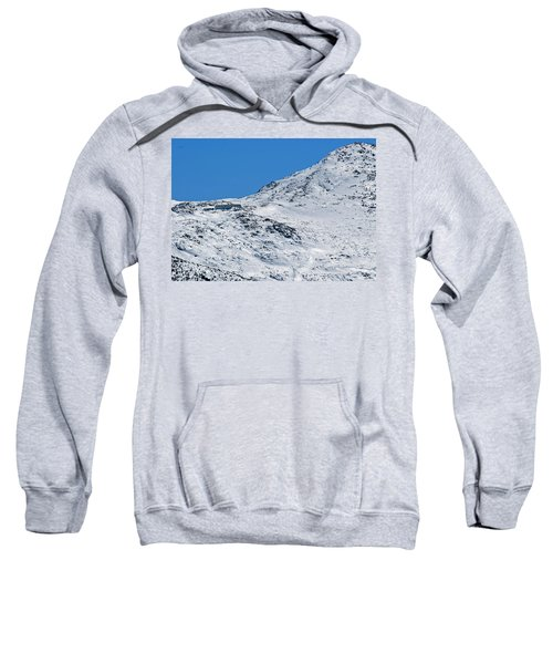 Lakes Of The Clouds Hut And Mount Monroe Sweatshirt