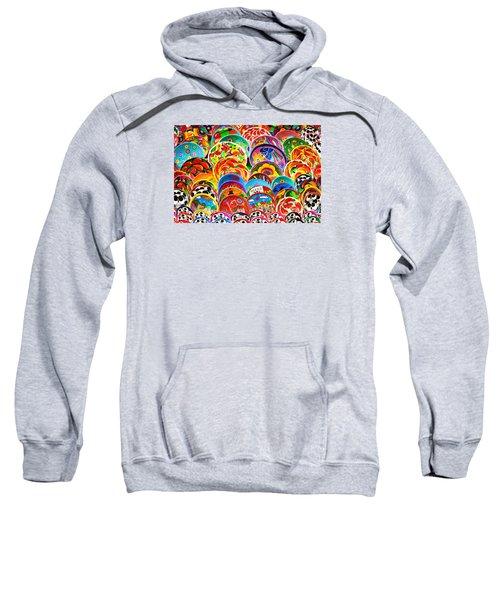 Land Of Brilliant Color Sweatshirt