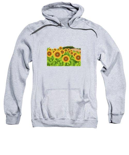 Land Of Sunflowers. Sweatshirt