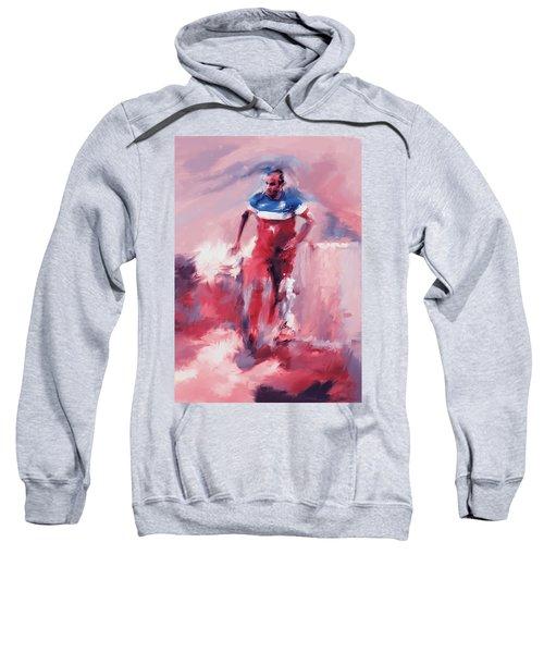 Landon Donovan 545 2 Sweatshirt by Mawra Tahreem