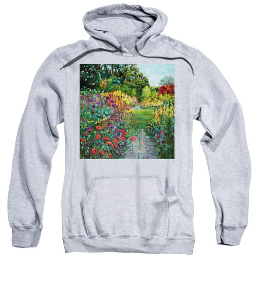 Landscape With Poppies Sweatshirt
