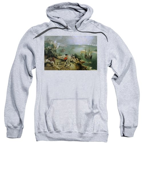 Landscape With The Fall Of Icarus Sweatshirt