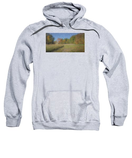 Langwater Farm With Pumpkins And Chateau Sweatshirt