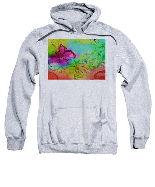 Large Flower 2 Sweatshirt