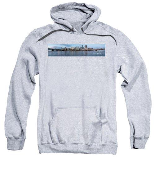 Large Panorama Of Downtown London Betwen The London Bridge And T Sweatshirt