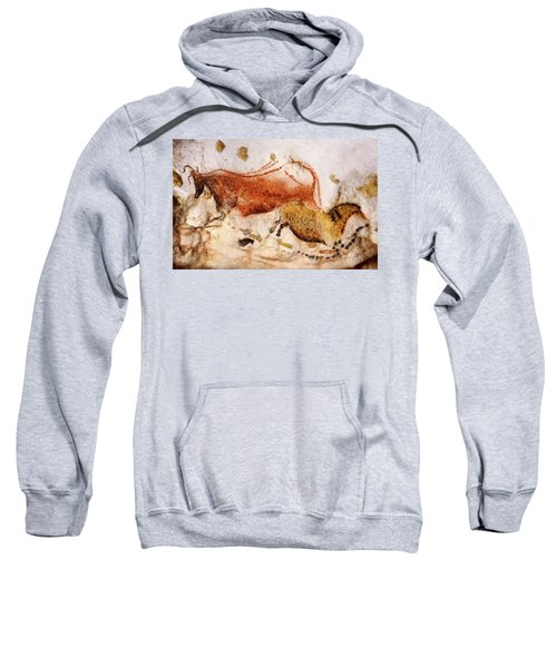Lascaux Cow And Horse Sweatshirt
