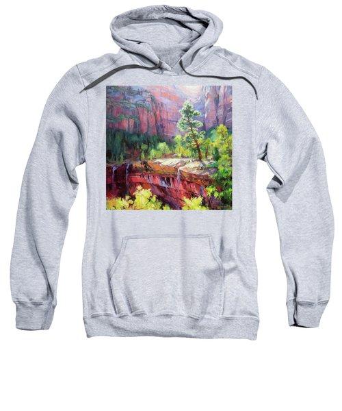 Last Light In Zion Sweatshirt