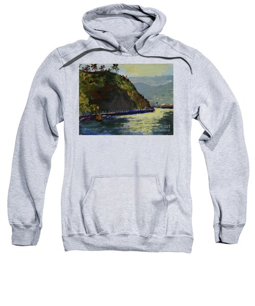 Late Afternoon At The Bay Sweatshirt