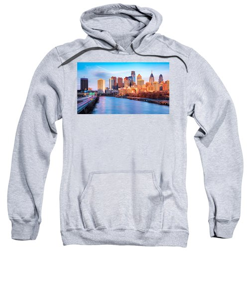 Late Afternoon In Philadelphia Sweatshirt