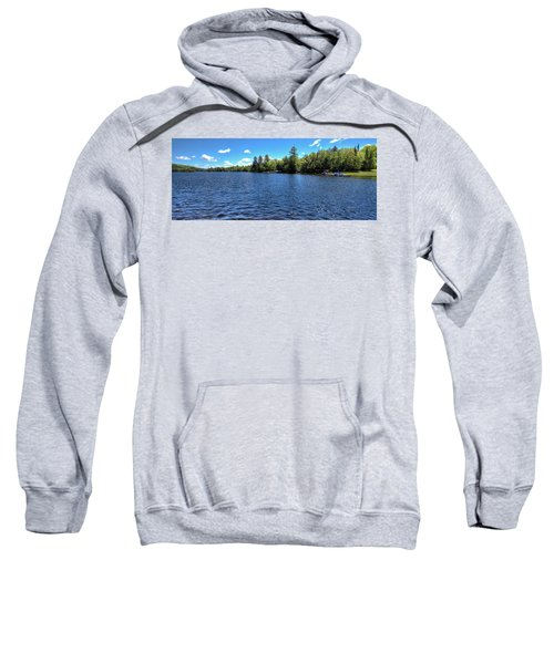 Late Spring On 6th Lake Sweatshirt