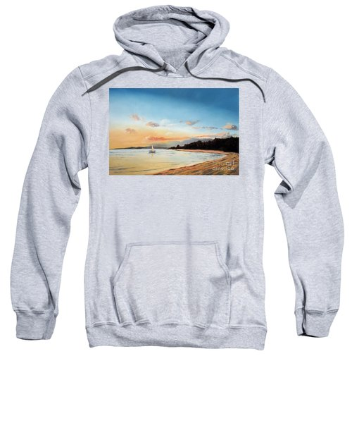 Late Sunset Along The Beach Sweatshirt