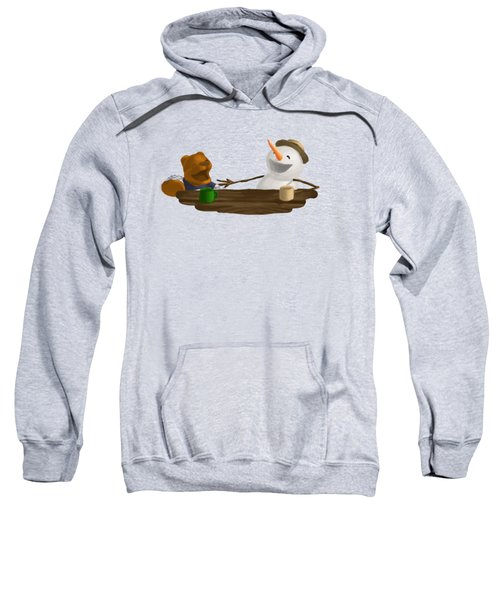 Laughter Sweatshirt by Jason Sharpe