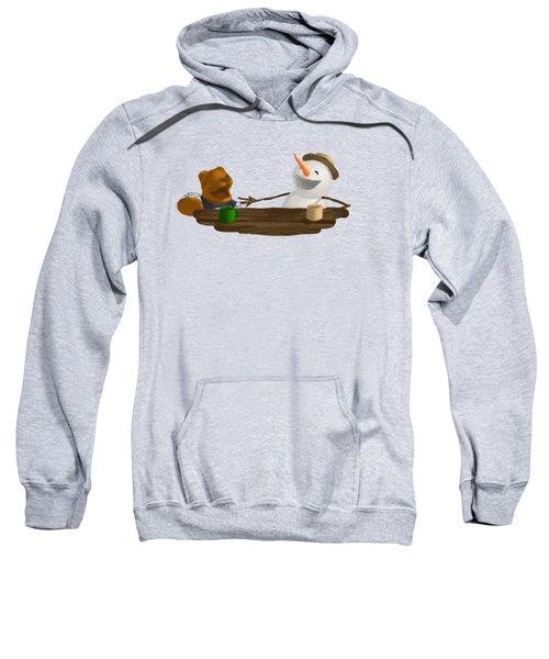 Laughter Sweatshirt by Jason Sharpe