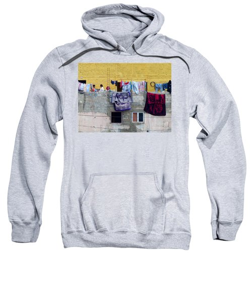Laundry In Guanajuato Sweatshirt