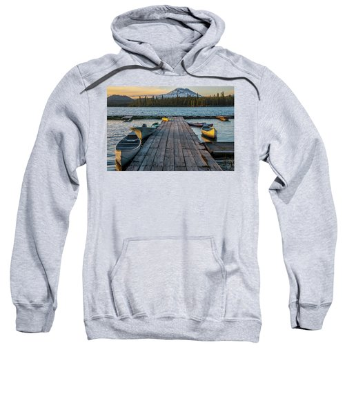 Lava Lake Evening  Sweatshirt