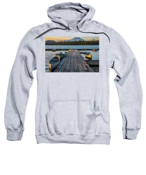 Lava Lake Evening  Sweatshirt