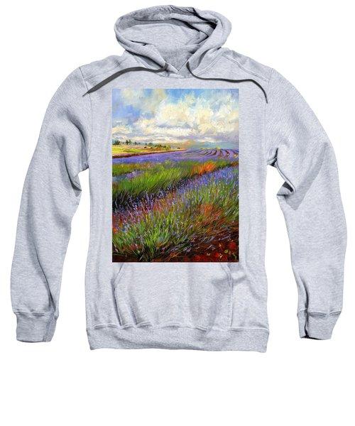 Lavender Field Sweatshirt