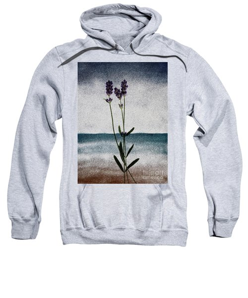 Lavender Ocean Breath Sweatshirt
