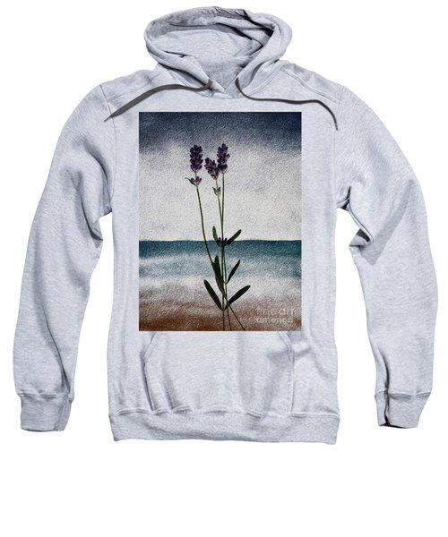 Lavender Ocean Breath Sweatshirt