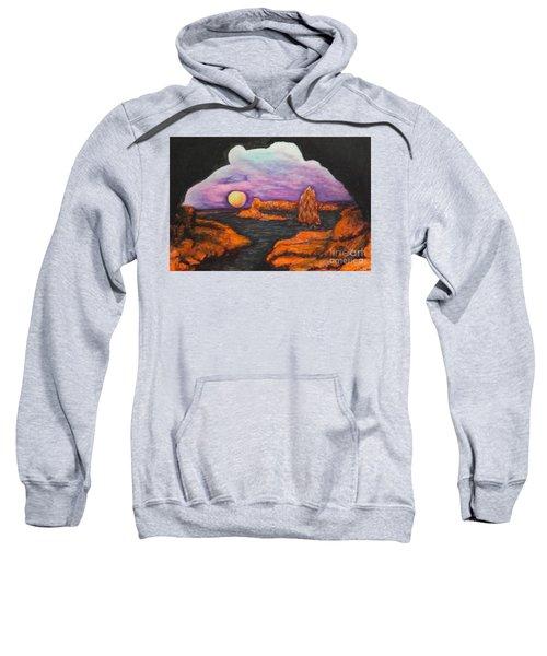 Lavender Sunrise Sweatshirt