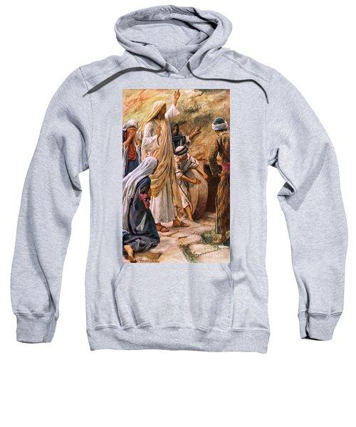 Lazarus, Come Forth Sweatshirt