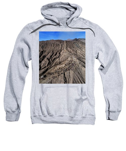 Leading To The Volcano Crater Sweatshirt