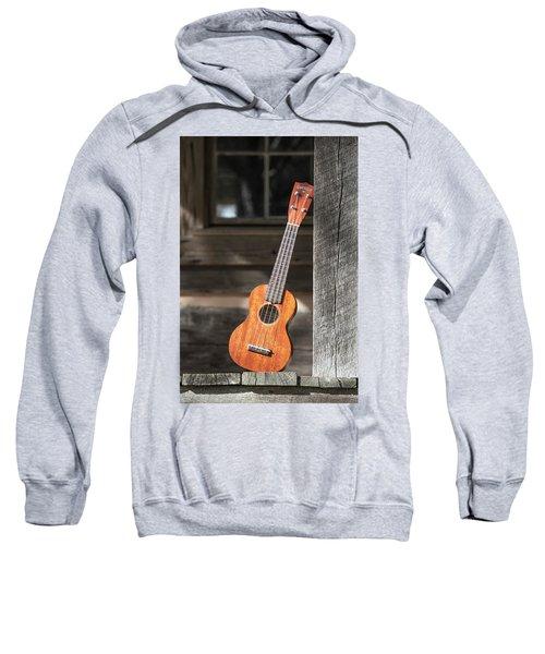 Leaning Uke Sweatshirt