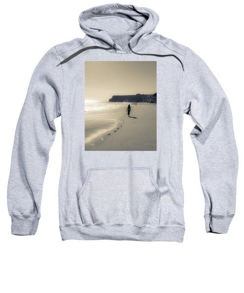Leave Nothing But Footprints Sweatshirt by Alex Lapidus