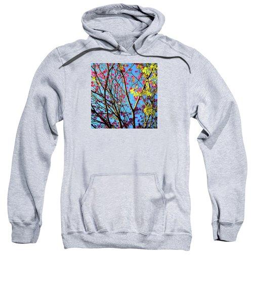 Leaves And Trees 980 Sweatshirt